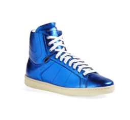 Classic Court Lambskin High Top Sneaker