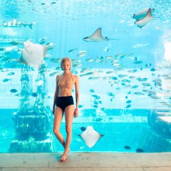 Swimming with Soo Joo