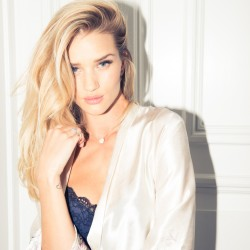 On Set with Rosie Huntington-Whiteley