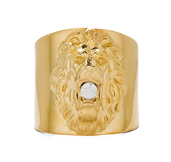 Plated Lion Cuff