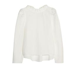 Enfant Cotton and Linen Blend Top