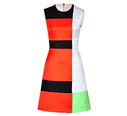 Colorblock Arlington Dress