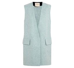 Cambray Wool-Felt Vest