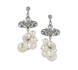 Regal Rocker Pearl Earrings
