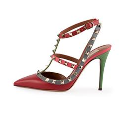 Rockstud Multicolor Slingback Sandal