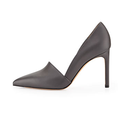 Cosette Leather Point-Toe Pump