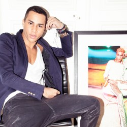 How to Get Olivier Rousteing's Cheekbones