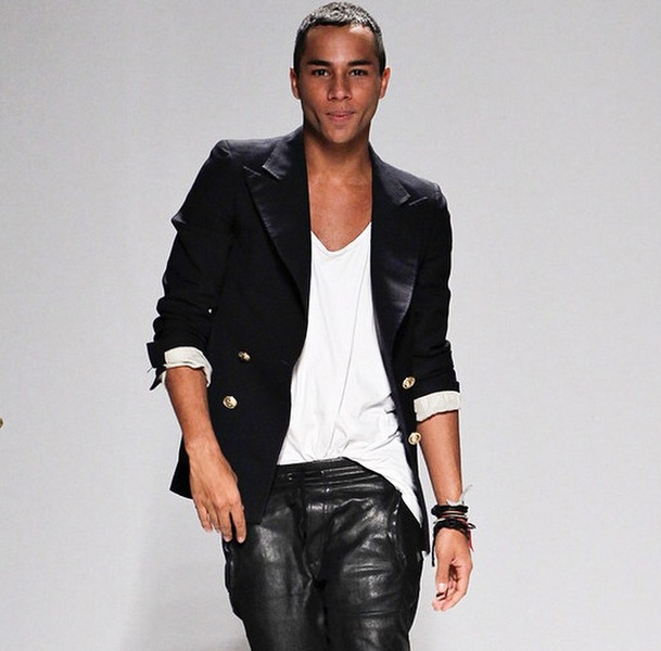 How To Get Olivier Rousteing S Cheekbones The Coveteur