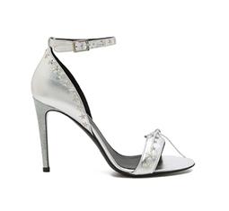 Glitter Heel Star Stud Sandal