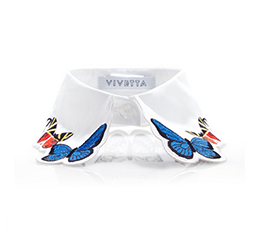Fauna Embroidered Collar