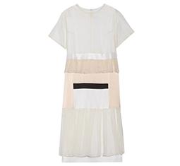 Visions Panelled Midi Dress