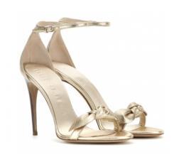Hamble Metallic Leather Sandals