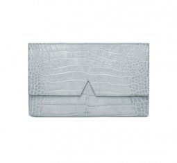 Signature Collection Stamped Croc Medium Clutch