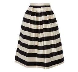 Escalante Striped Midi Skirt