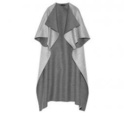 Noden Two Tone Wool Cape