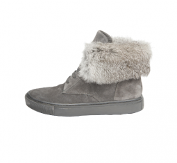 Nyack Two-Toned Fur-Lined Sneakers