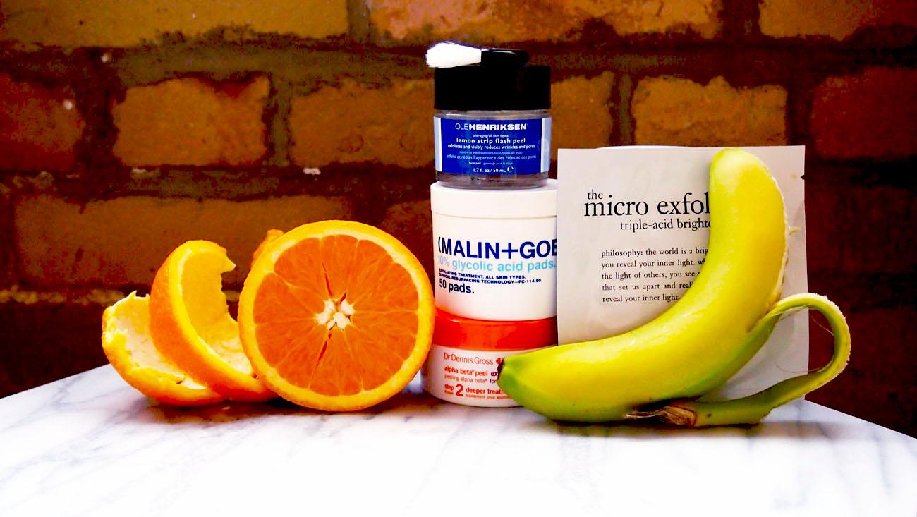 Beauty Test-Drive: Acid Exfoliators
