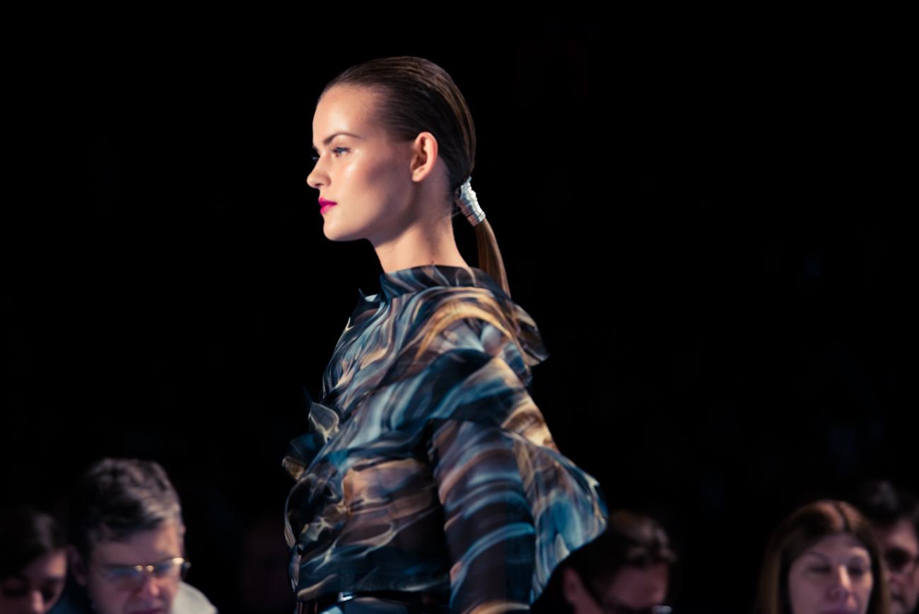 Carolina Herrera: the S / S 2015 Fashion Show at NYFW