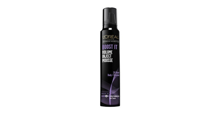 l'oreal boost it volume inject mousse