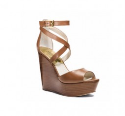 Gabriela Leather Wedge