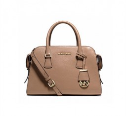 Harper Medium Leather Satchel