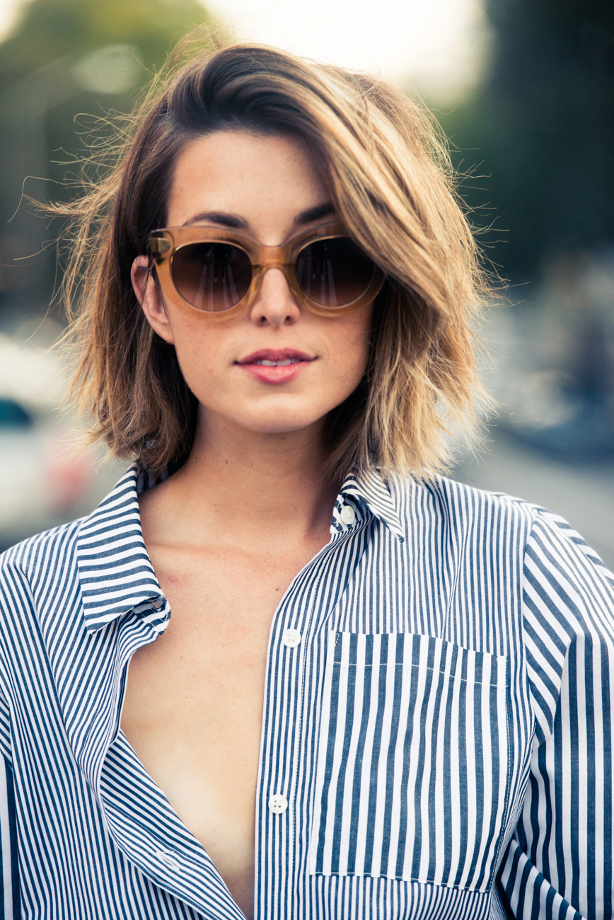 short hair, don't care - how to style a bob // girl for granted