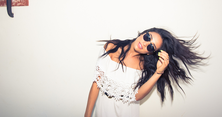 Shay Mitchell's Real-Life Wardrobe Is Way Different from Her <em>PLL</em> Character