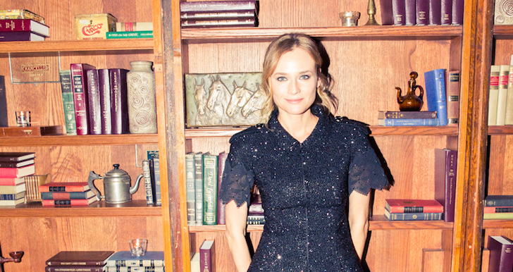 Diane Kruger Doesn't Believe In Juice Cleanses And Needs 9 Hours Of Sleep