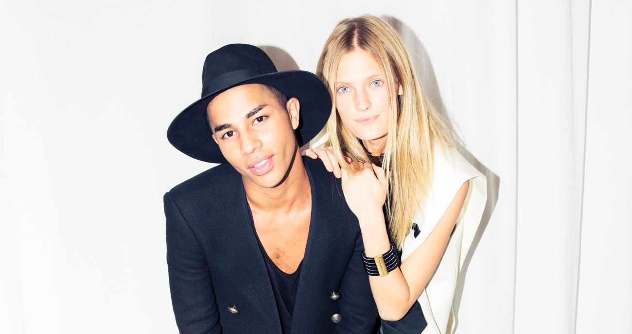 Olivier Rousteing & Constance Jablonski On Lemon Water & Detox Retreats