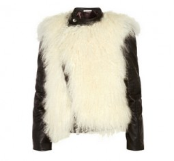 Luck Shearling and Leather Biker Jacket