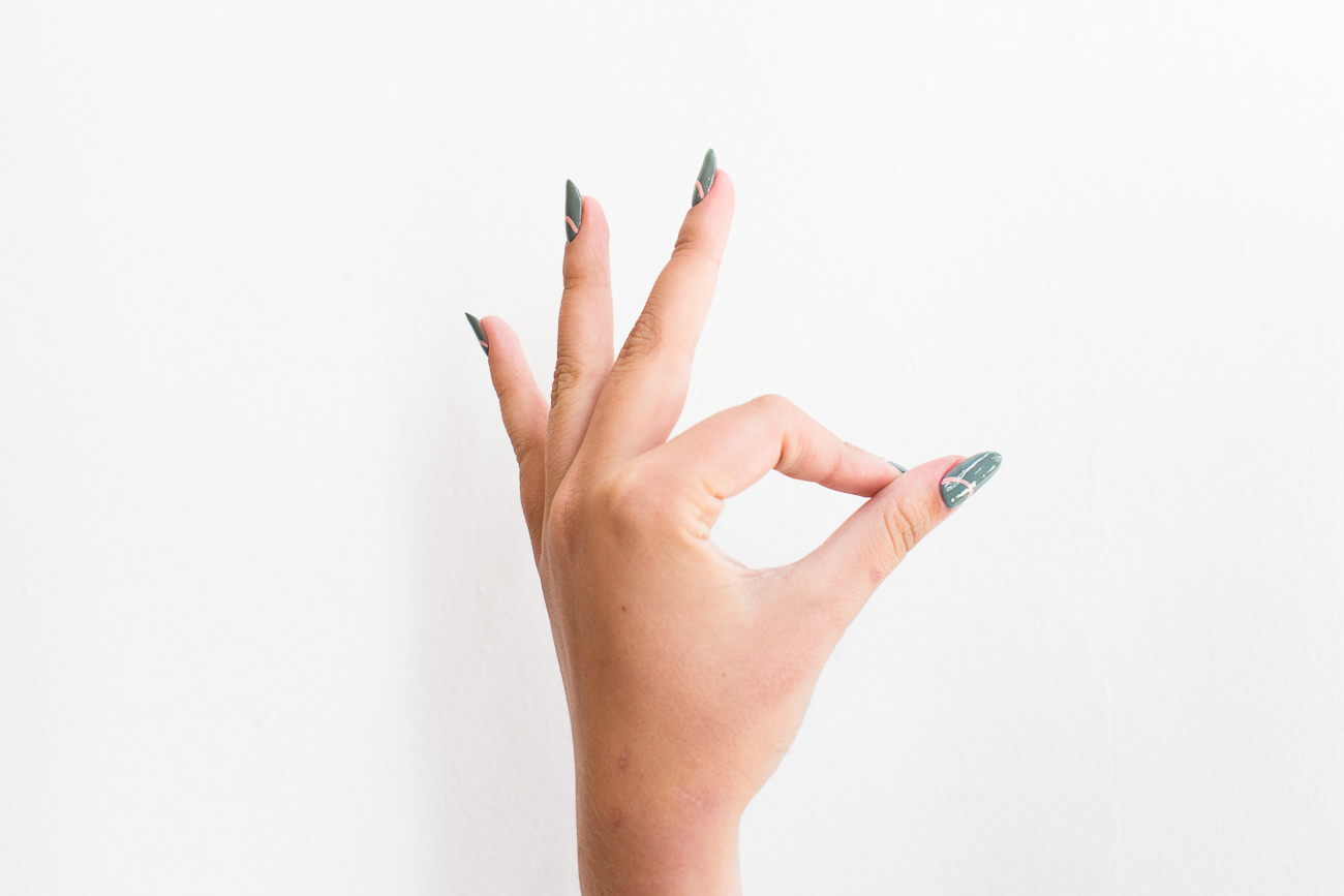 The Easiest Cool Girl Manicure