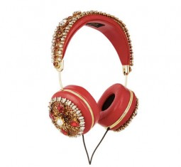 Frends Embellished Leather Headphones