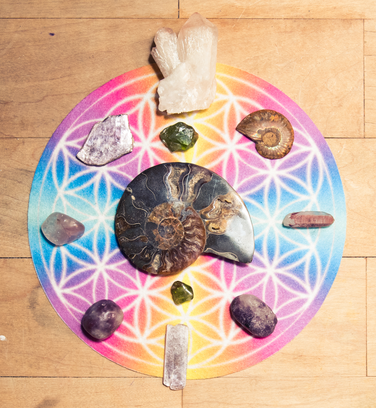 A Session With Kylie Jenner's Crystal Healer