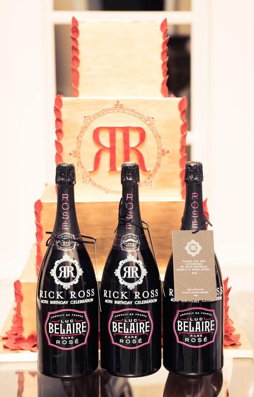 Belaire Rose Rick Ross