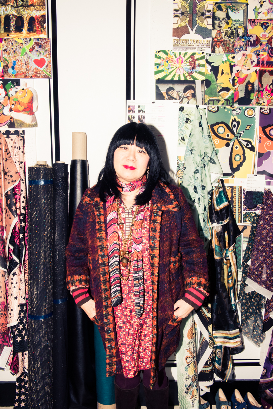 Anna Sui Fall Winter 2014 2015 New Women S Clothing Styles: What Fashion Week Is Like For Anna Sui