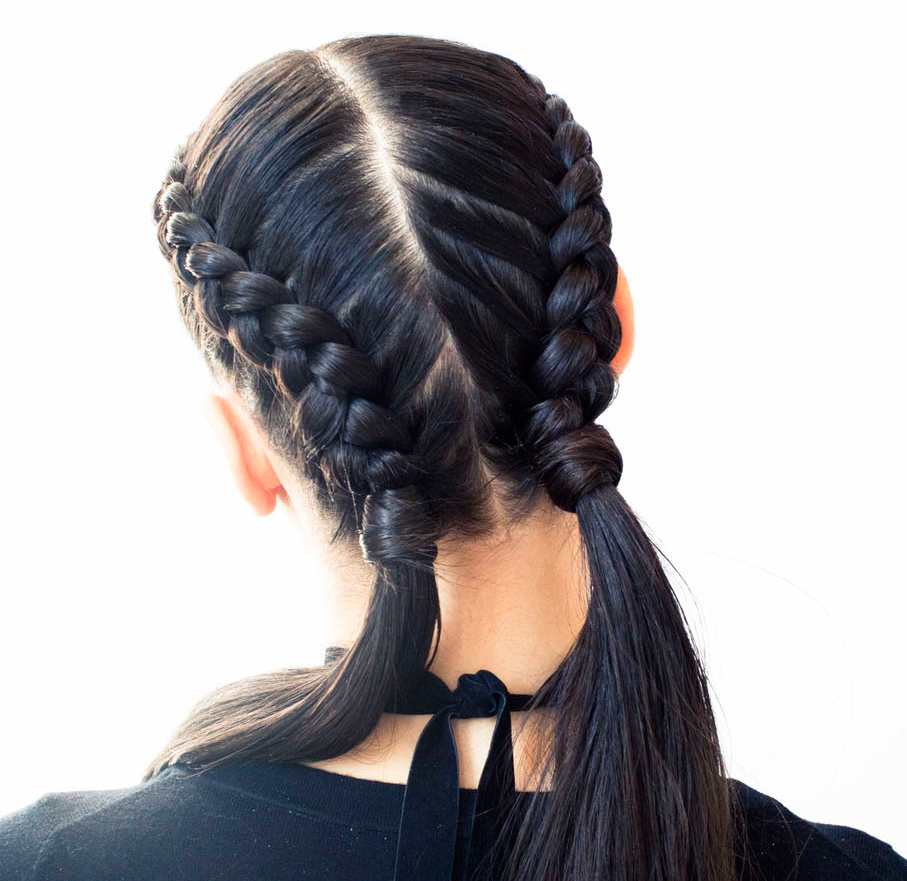 The Boxer Braid Aka Double French A How To Coveteur