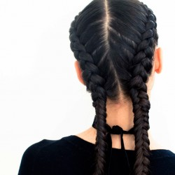 The Boxer Braid (aka Double French Braid): A How-To