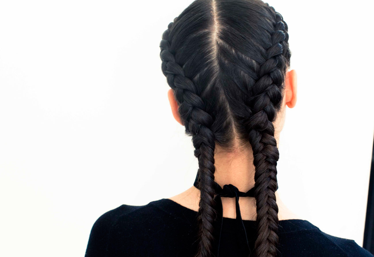 The boxer braid aka double french braid a how to coveteur solutioingenieria