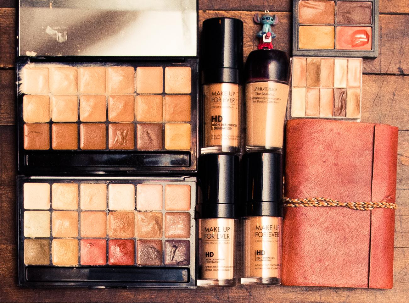 Inside Makeup Artist Page S Kit