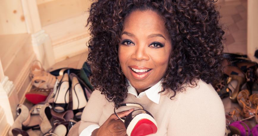We Still Can't Believe We Got to Raid Oprah's Closet