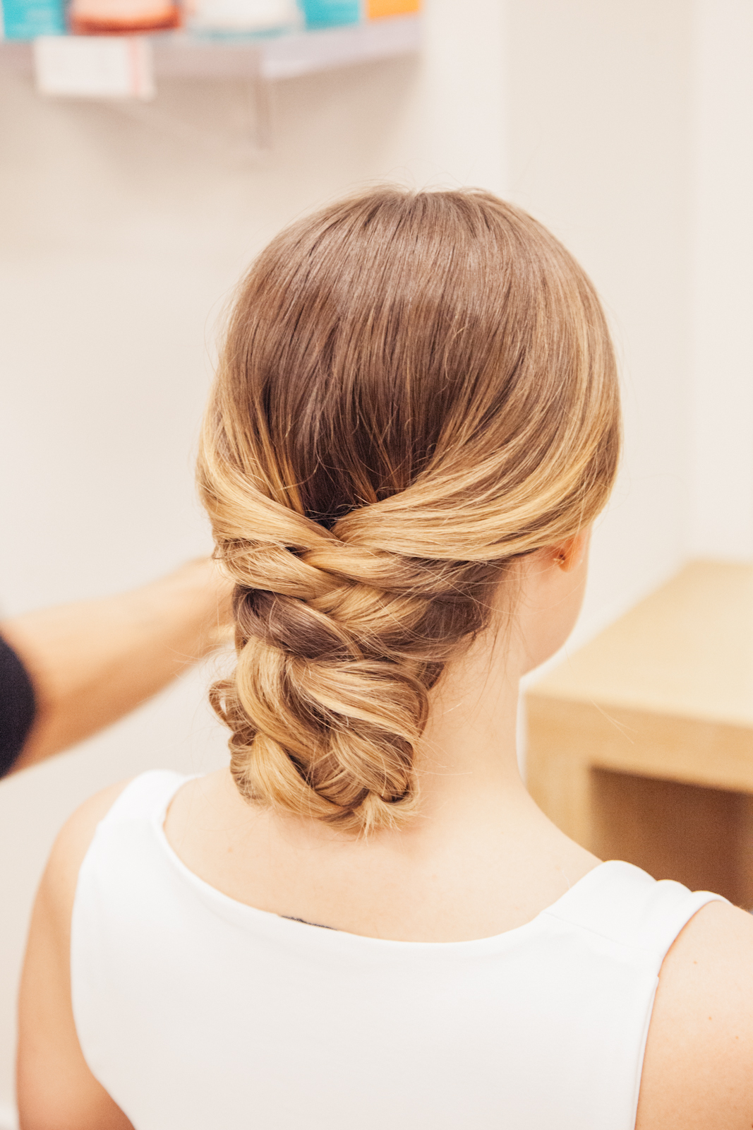 How To Do A French Braid Bun Wedding Hair Coveteur