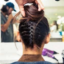 How to Do An Upside Down Braided Bun