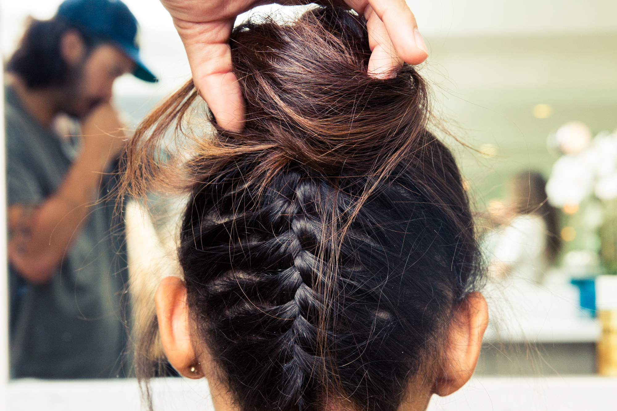 How To Do An Upside Down Braided Bun Coveteur
