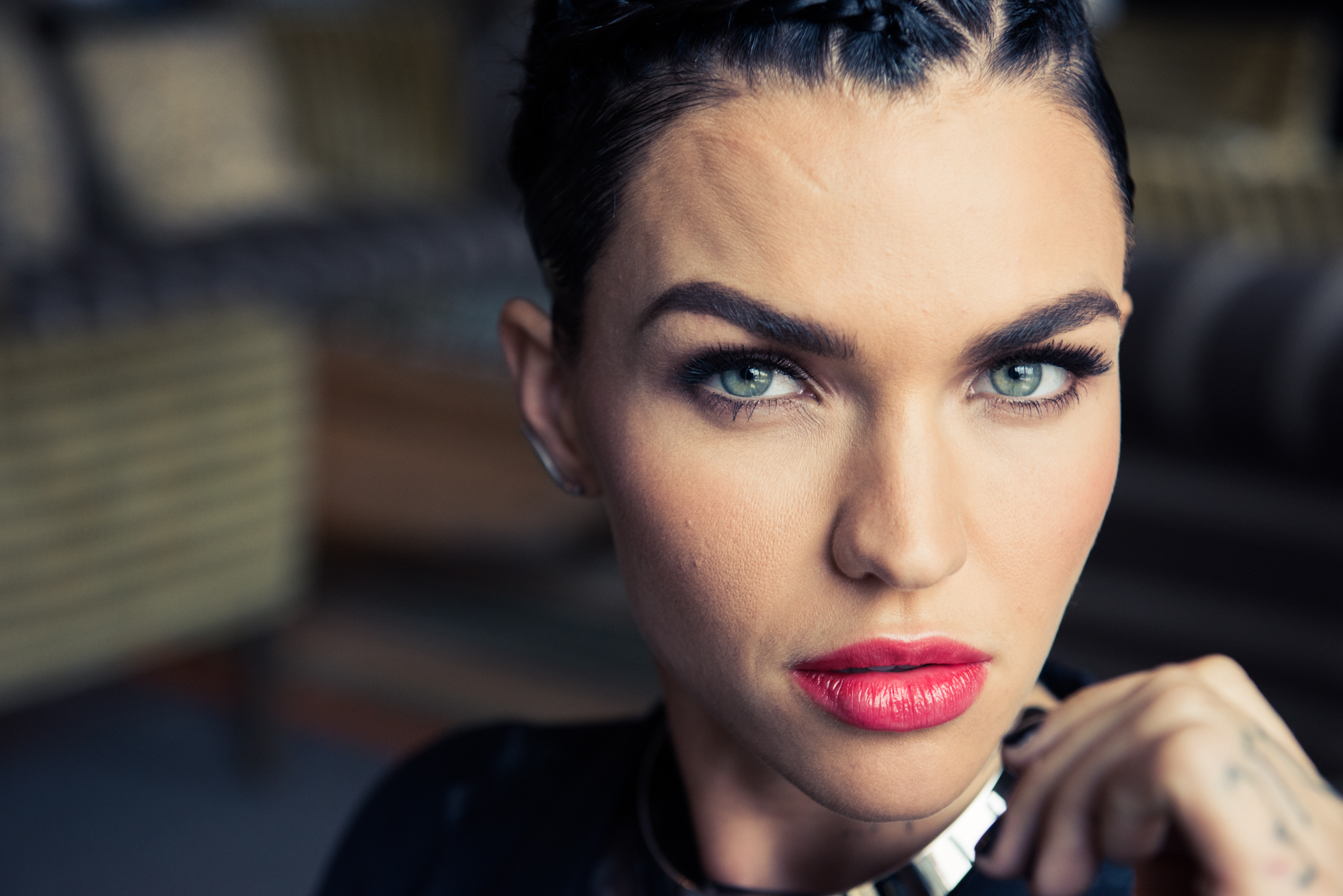 Ruby Rose On Her Beauty Routine