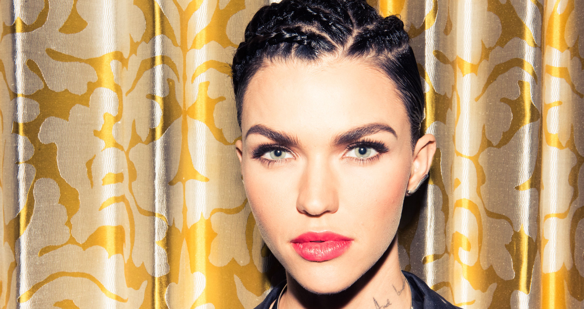 Ruby Rose Never Plucks Her Eyebrows