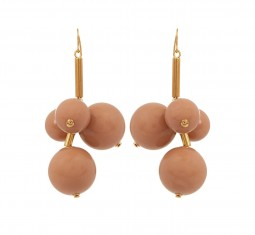 Ball-drop earrings