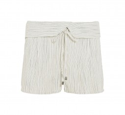 Marina striped woven shorts