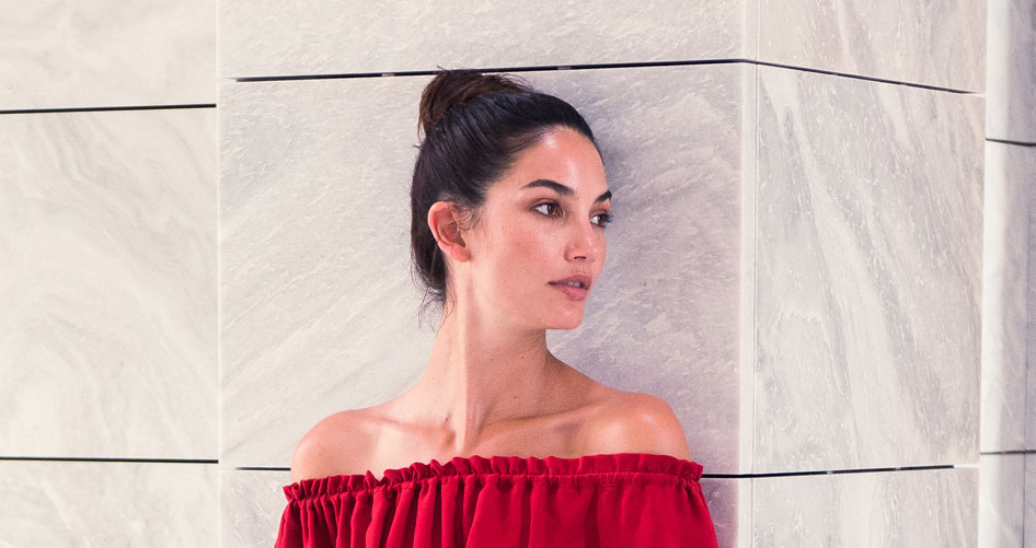 Lily Aldridge Talks Travel