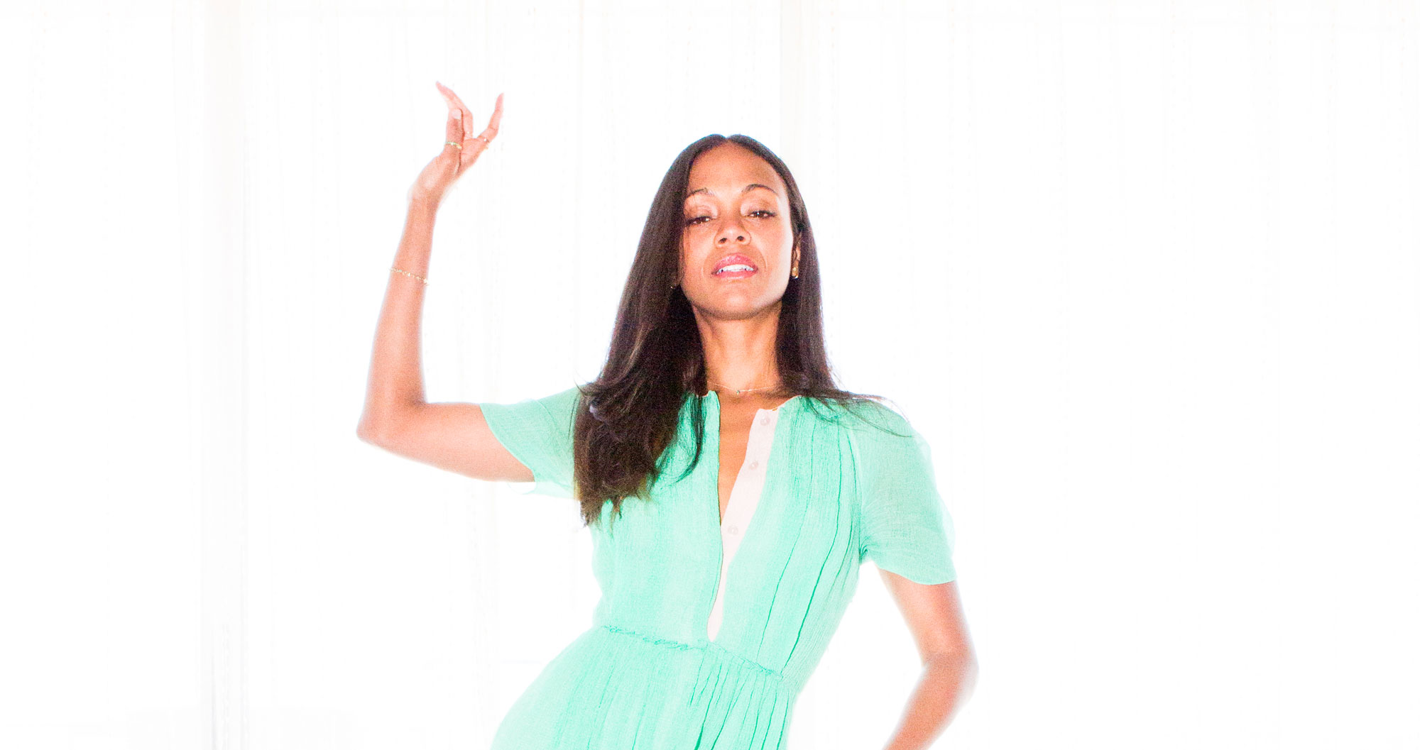 Zoe Saldana on Prepping For Her Star Trek Role