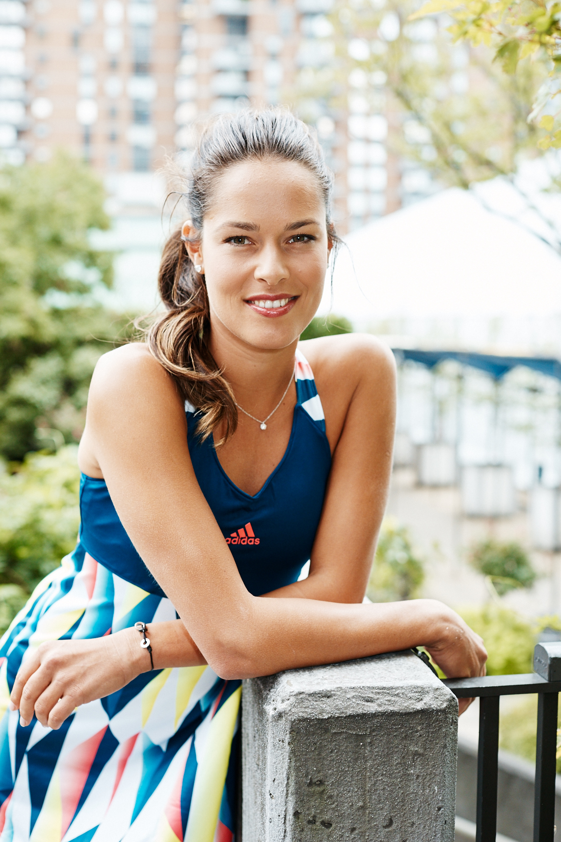 Ana Ivanovic Talks Beauty and Give Tennis Lessons